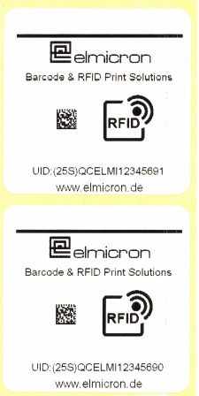 Elmi DMX+RFID Labels 1210